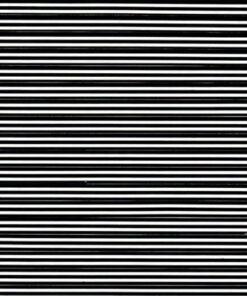Black stripes on white
