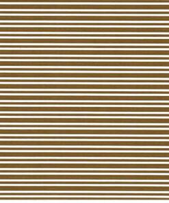 Brown stripes on white