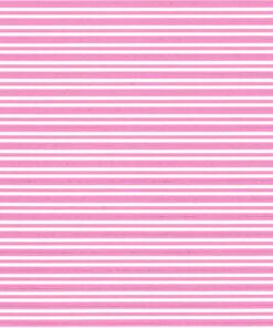 Pink stripes on white