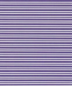 Purple stripes on white