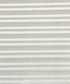 Silver stripes on white