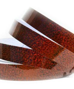 1x150 Bronze Sequin Tape - Hula Hoop Tape