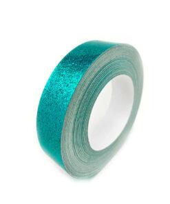 1x60 Teal Glitter Tape - Hula Hoop Tape