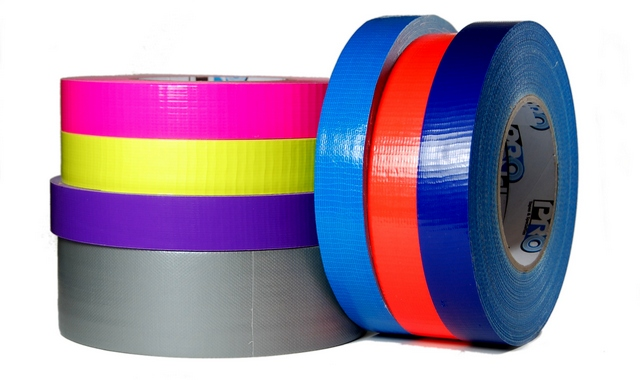 "Duct Tape 1"" & 2"" Solid Colours"
